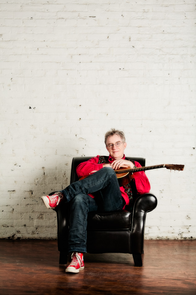 Paul Nye - Musician - Minneapolis Studio Portrait Session