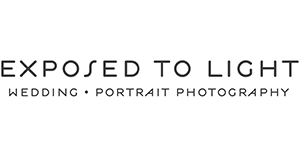 Minneapolis and St. Paul Photographer | EXPOSED TO LIGHT PHOTOGRAPHY | Wedding and Portrait Photography logo